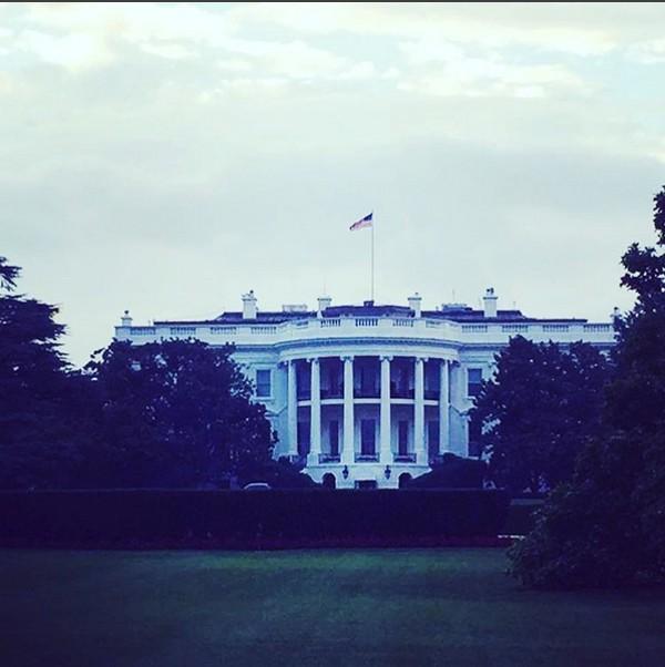 Madonna diz que Casa Branca é seu novo lar (Foto: Reprodução / Instagram)