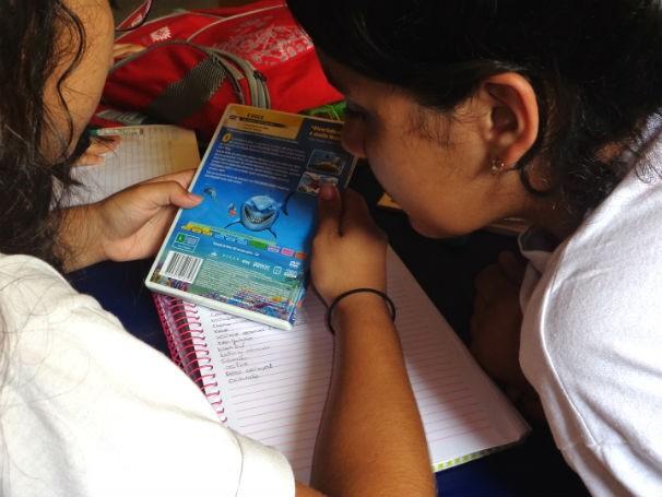 Ginásio Experimental de Artes Visuais utiliza o cinema como ferramenta educativa (Foto: Divulgação/ GEAV)