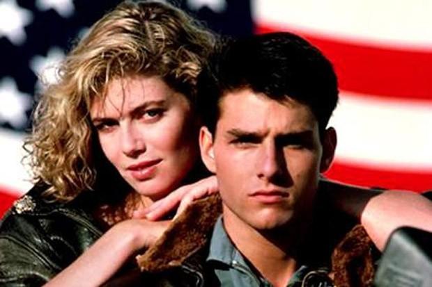 """""""Top Gun"""", clássico dos anos 1980 que conta a história do jovem piloto de caça da Marinha dos Estados Unidos, Pete """"Maverick"""" Mitchell  (Foto: Reprodução)"""