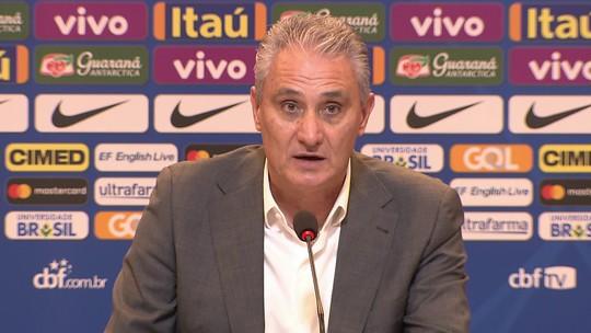 Tite diz que ausência de Neymar também é preparação para a Seleção