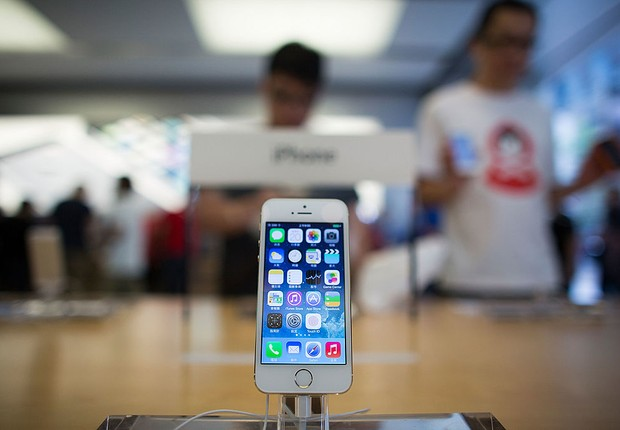 iPhone 5s, celular, smartphone, Apple (Foto: Lam Yik Fei/Getty Images)