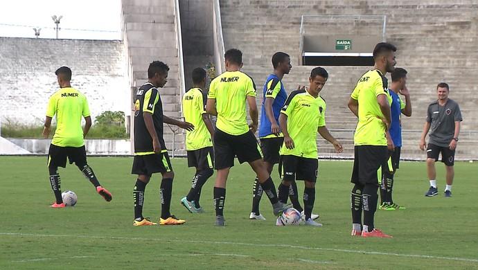 treino, botafogo-pb (Foto: Reprodução / TV Cabo Branco)