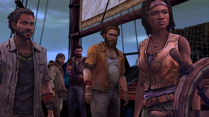 Novo game da Telltale sobre TWD foca na personagem Michonne (Foto:  Divulgação / Telltale games )