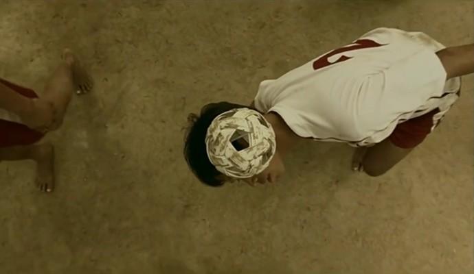 Chinlone é jogado em Mianmar há mais de 1500 anos (Foto: Reprodução TV Globo)