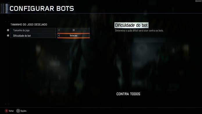 Adicione bots ao jogo (Foto: Reprodução/Murilo Molina)