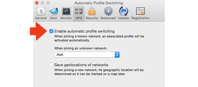 Ative a escolha de perfil de rede (Foto: Reprodução/Paulo Alves)