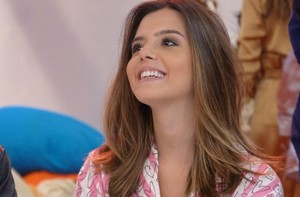 Giovanna Lancellotti revela preparao: &#39;Treinava na mo&#39; (TV Globo / Esquenta!)