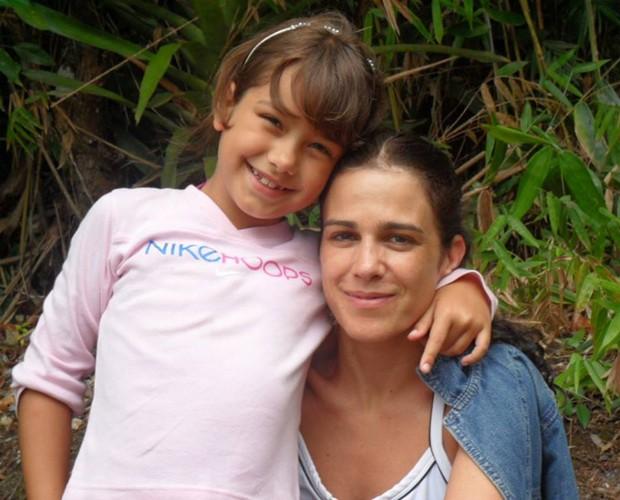 Karina Barum e a filha Manoela (Foto: Arquivo Pessoal)
