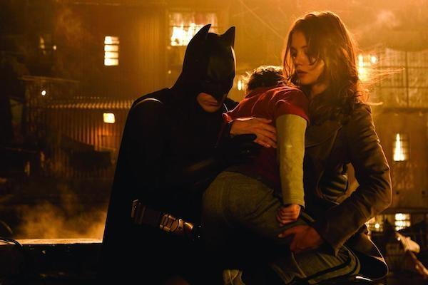 A atriz Katie Holmes em 'Batman Begins' (2005) (Foto: Reprodução)