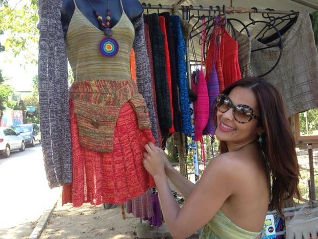 Gyselle Soares em Paraty (Foto: Divulgação)