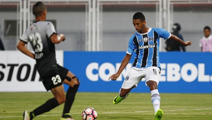 Zamora x Grêmio Libertadores Michel (Foto: Lucas Uebel / Grêmio / Divulgação)