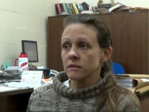 Graciele Ugulini escreveu carta e encaminhou para a Justiça (Foto: Reprodução/RBS TV)
