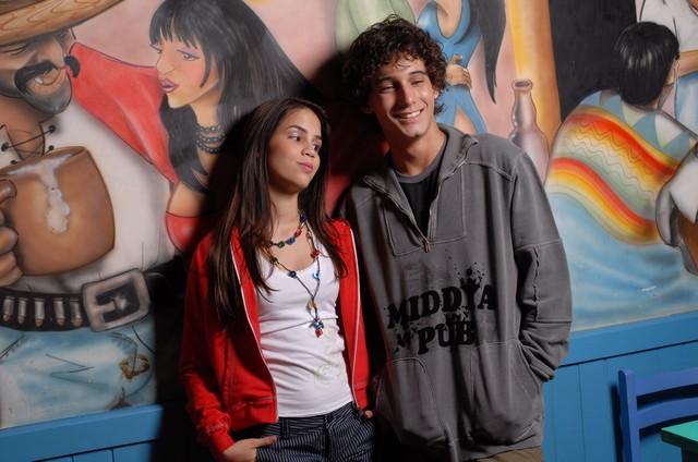 Pérola Faria e Rafael Almeida (Foto: Divulgação)