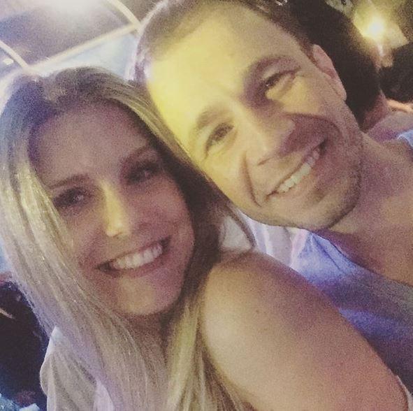 Daiana Garbin e Tiago Leifert (Foto: Reprodução/Instagram)