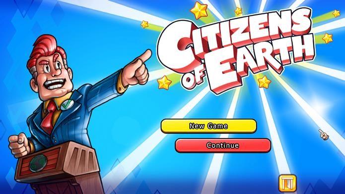 Citizens Of Earth é um RPG onde você é o vice-presidente do mundo (Foto: Divulgação)