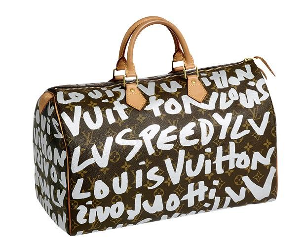 Louis Vuitton - A bolsa Speedy, assinada por Stephen Sprouse (Foto: Divulgação)