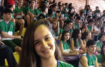 Aluna de escola de Colatina vence a timidez competindo no Na Rede