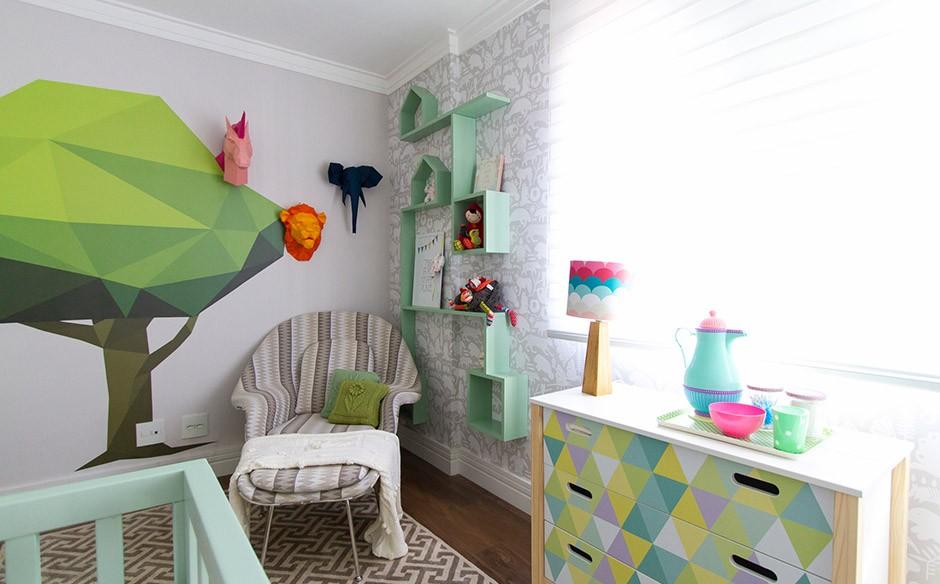 Quarto de gêmeas anote dicas de decoração para adaptar o quarto para os dois