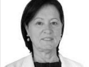Sônia, candidata à reeleição em Araújos (Foto: TSE/Divulgação)