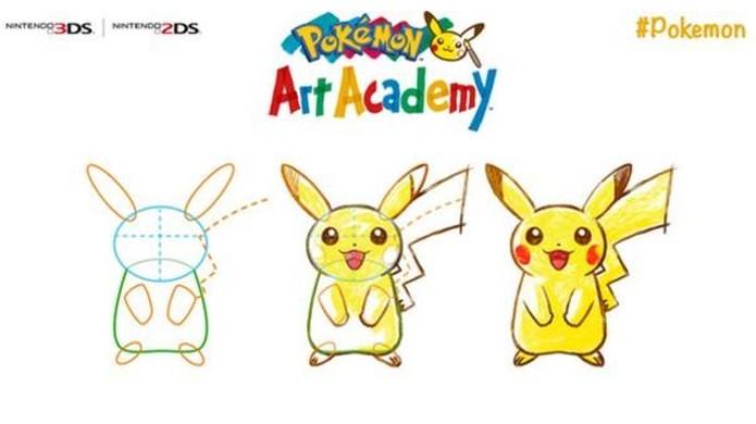 Pokémon Art Academy ensinará lições de desenho usando pokémons (Foto: Gamers Honest Truth)