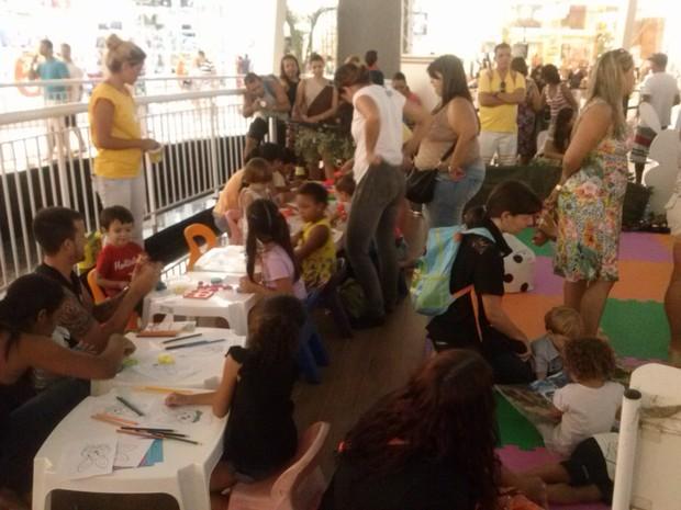 Ação com oficinas vai reunir crianças de todas as idades (Foto: Divulgação / W3 Comunicação)