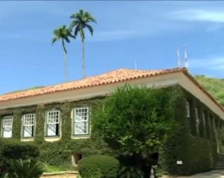 Casa da Hera foi reaberta ao público (Foto: Reprodução/ TV Rio Sul)