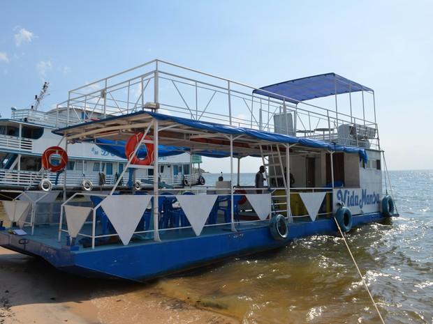 """Produção de """"balsinhas"""" está em alta no oeste do Pará (Foto: Luana Leão/G1)"""