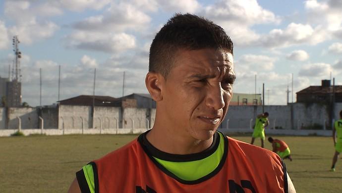 Élton, volante, Miramar (Foto: Reprodução / TV Cabo Branco)