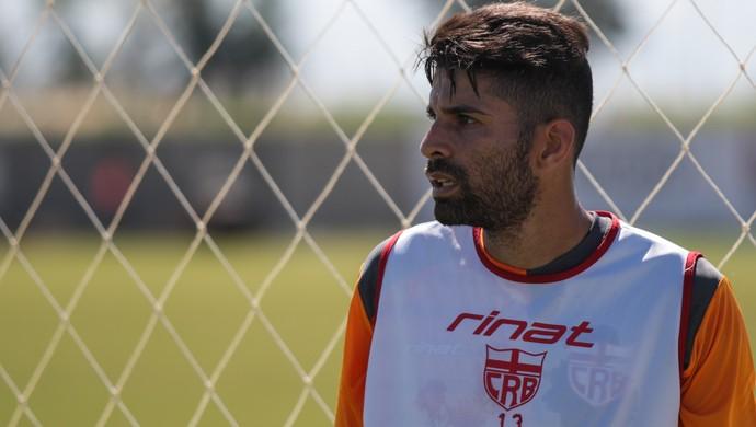 Gerson Magrão, meia do CRB (Foto: Jonthan Lins/G1)