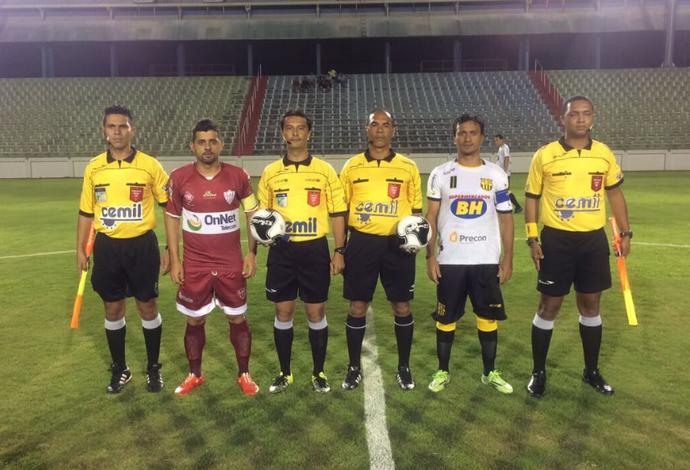 Betinense x Patrocinense; Arena do Calçado; Nova Serrana; Módulo II do Mineiro (Foto: FMF/Divulgação)
