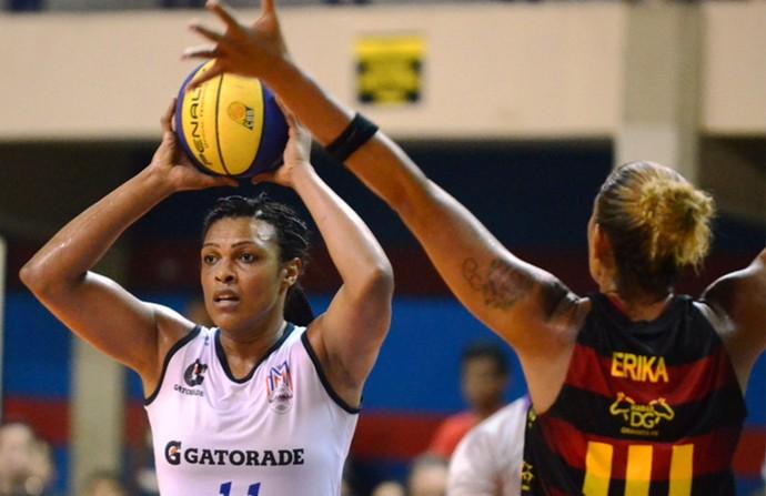 Basquete - Maranhão x Sport - Kelly e Erika (Foto: Divulgação/LBF)