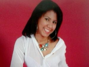 Arlete dos Anjos Carvalho foi morta por motociclista em Goiânia, Goiás (Foto: Reprodução/TV Anhanguera)