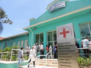 Hospital Dr. Arnaldo Pezutti Cavalcante  (Foto: Pedro Carlos Leite/G1)