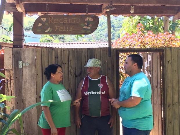 Família diz que vai lutar para continuar na casa (Foto: Bruno Rodrigues/G1)