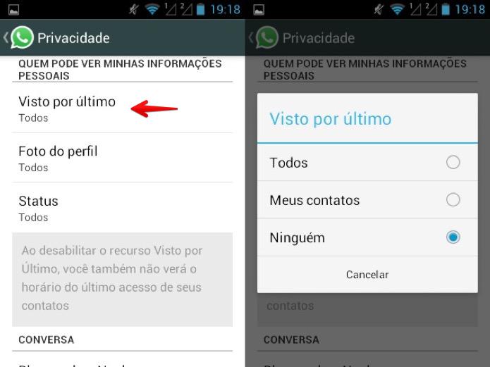 Desativando recurso no Android (Foto: Reprodução/Helito Bijora)
