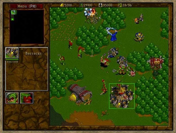 Warcraft Orcs vs Humans (Foto: Divulgação/Blizzard)