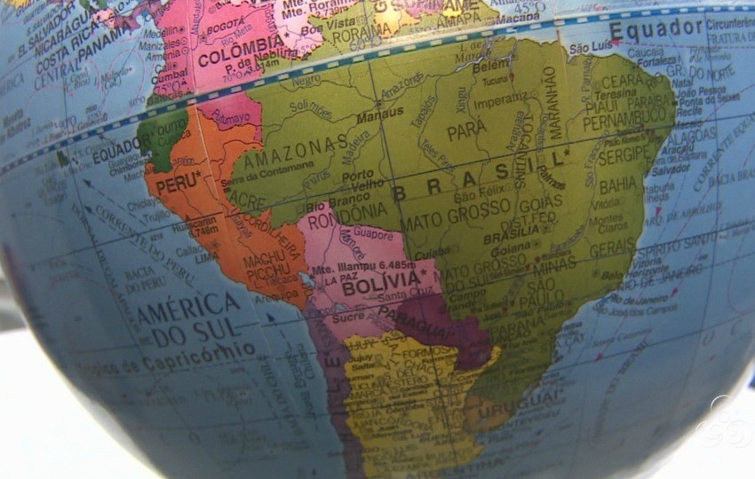A América do Sul é um dos destinos procurados pelos intercambistas (Foto: Jornal do Amazonas)