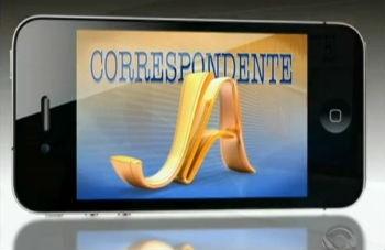 Correspondente JA (Foto: Divulgação)