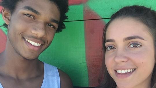 Valentina Bandeira e Juan Paiva já shippam #Jesley, o novo casal de 'Totalmente Demais'