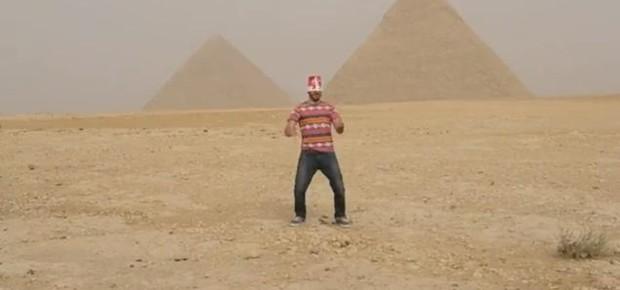 Harlem Shake no Egito (Foto: Reprodução)