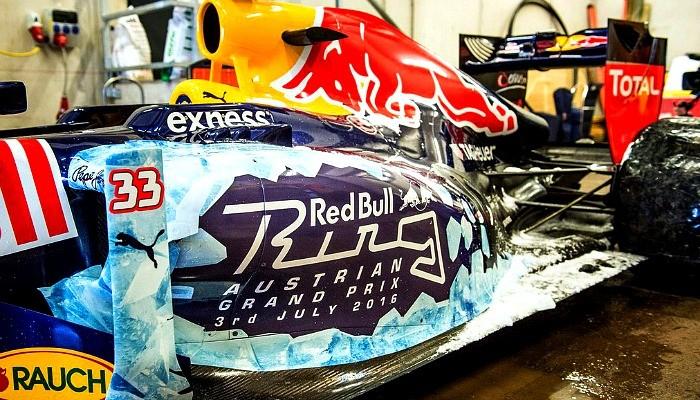 Red Bull neve Áustria