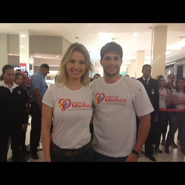 Fernanda Keulla e André Martinelli (Foto: Instagram/ Reprodução)