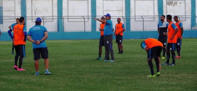 Confiança, treino, sabino ribeiro (Foto: Divulgação / ADC)