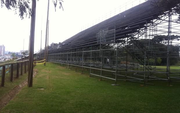 Ecoestádio, nova casa do Atlético-PR (Foto: Fernando Freire/GLOBOESPORTE.COM)