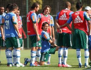 Treino Palmeiras grupo Palmeiras Felipão Grupo (Foto: Daniel Teixeira / Agência Estado)