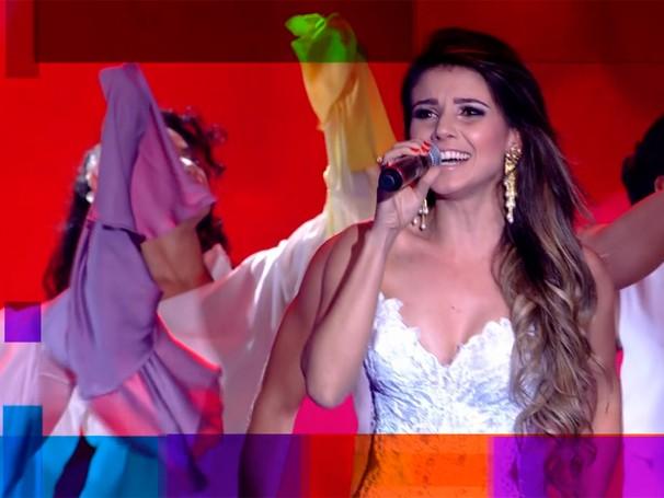 Paula Fernandes é uma das atrações do show do Criança Esperança (Foto: Globo)