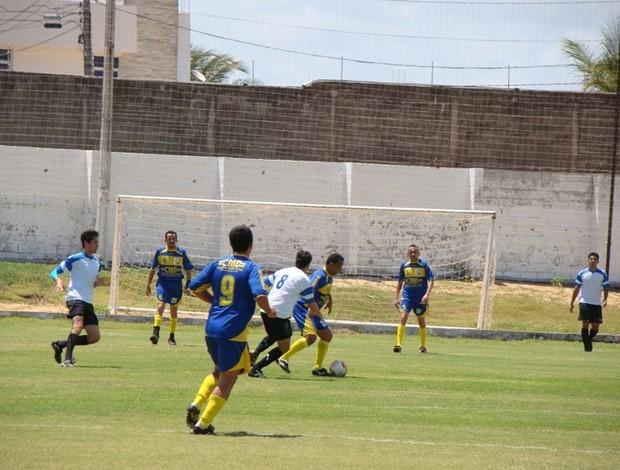 Árbitros do Rio Grande do Norte e Ceará realizaram amistoso neste sábado (Foto: Divulgação/Site oficial do ABC)