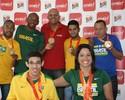 Andef homenageia seus atletas medalhistas no Parapan de Toronto