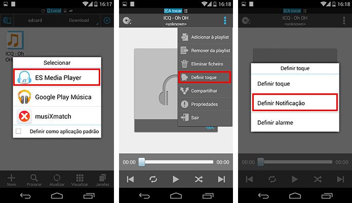 Use o aplicativo para colocar o som como notificação padrão (Foto: Reprodução/Paulo Alves)