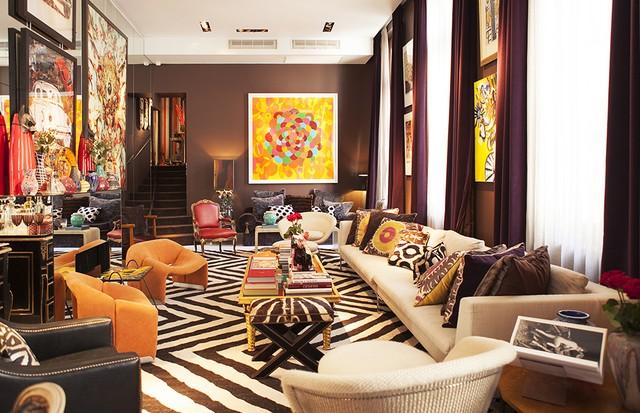 O mix do apartamento de Murilo Lomas (Foto: Emilia Brandão/Arquivo Vogue)
